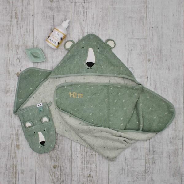 Baby bath giftset, Mr Polar bear