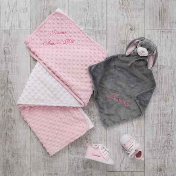 Schmusetuch, Decke und Schuhe
