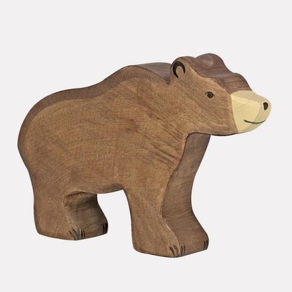 Holztier Papa Bär