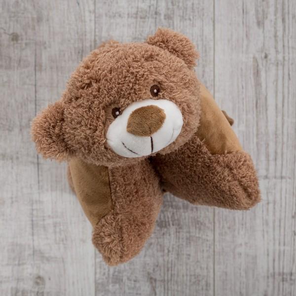 Plüschkissen, 30 cm, Bär