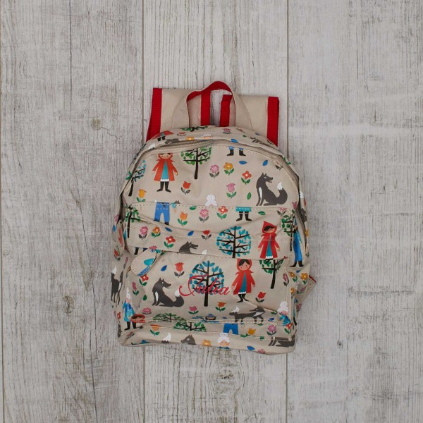 Mini Backpack ''The Little Red Riding Hood''
