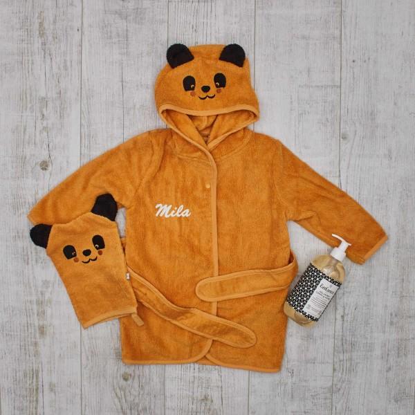 Baby bath giftset, Yellow panda