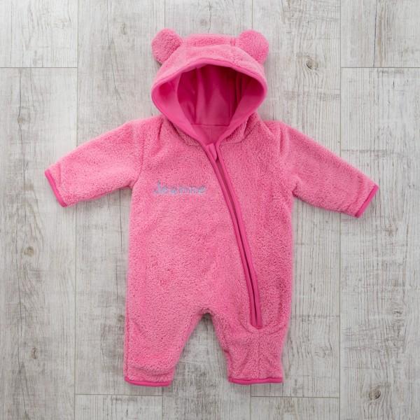 Fleece Overall, Rosa