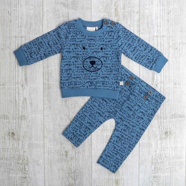 Set Sweatshirt & Hose Blau