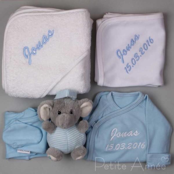 5-teiliges Neugeborenen Set - Blau
