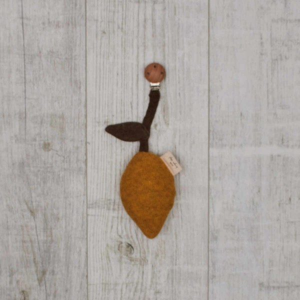 Mobile de pousette avec clip, citron