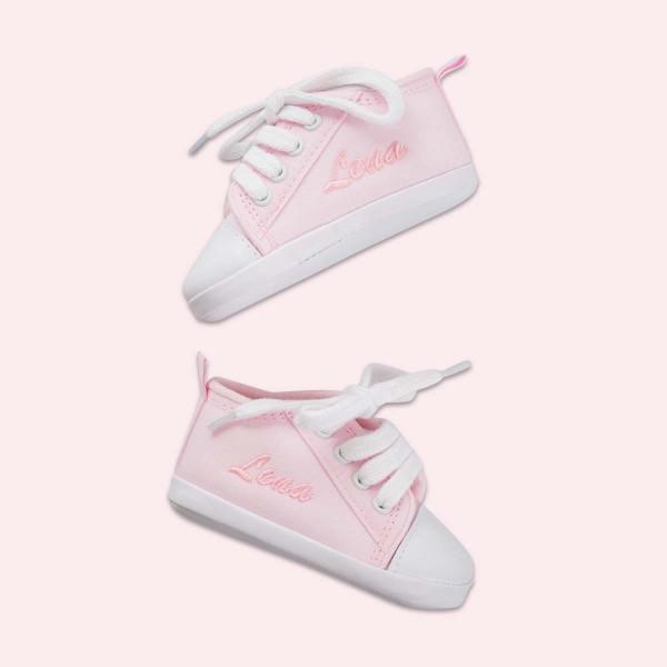 Chaussures bébé, rose