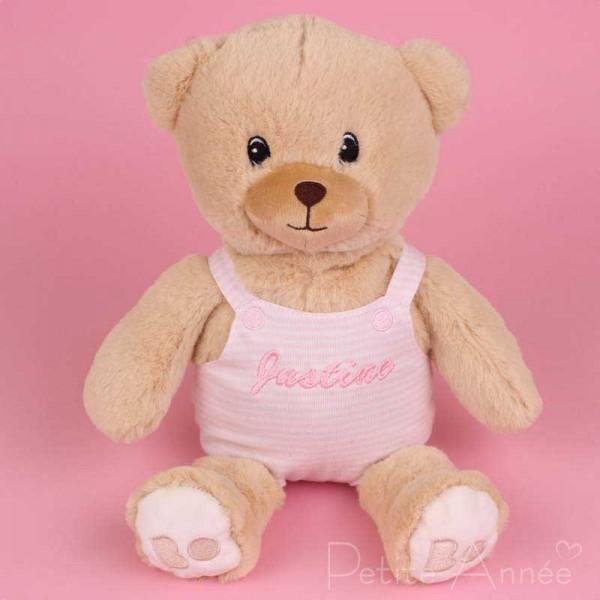 Plüschtier Teddybär - Rosa, 30 cm