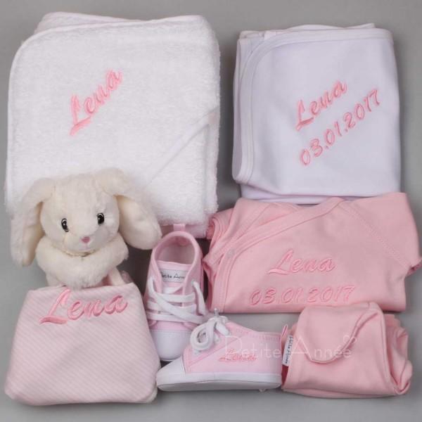 Luxus Set Kaninchen Schmusetuch