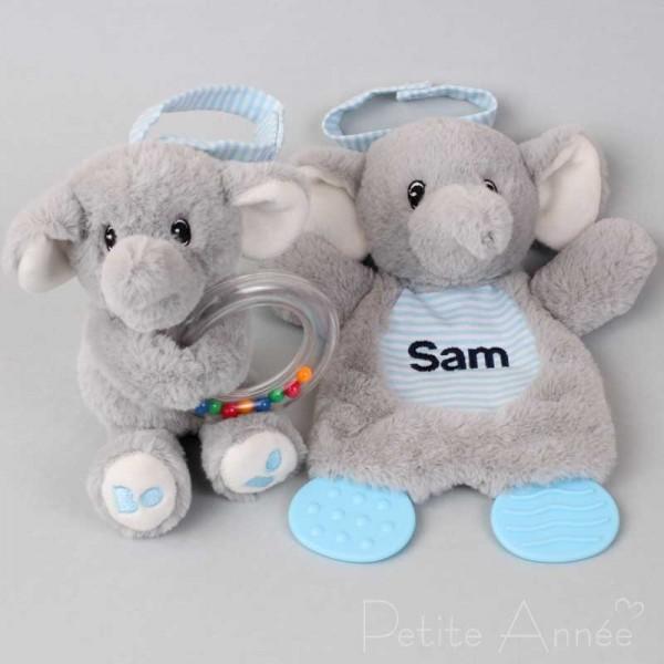Elefant Beissspielzeug & Ringrassel