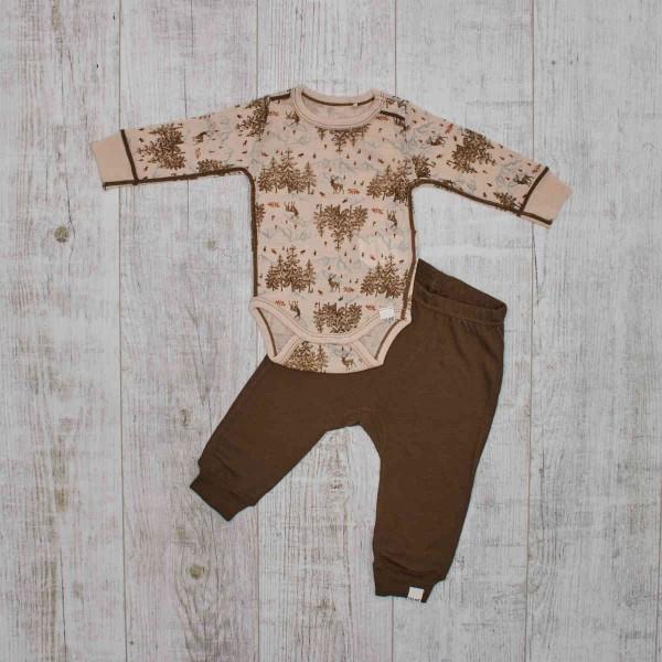 Baby Body & Hose Merino, Herbstwald