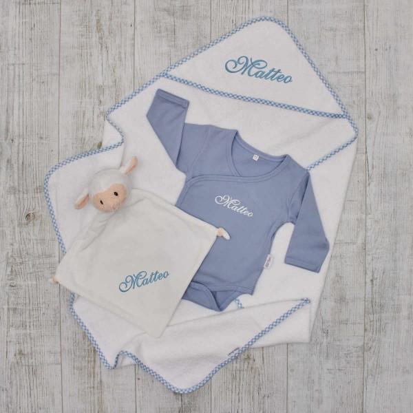 Essentials Babyset - Bathtime, blue