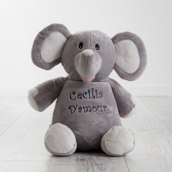 Personalisiertes Plüschtier Elefant