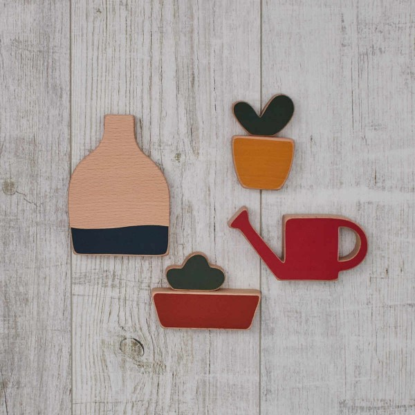 "Wooden toy ""small garden"""