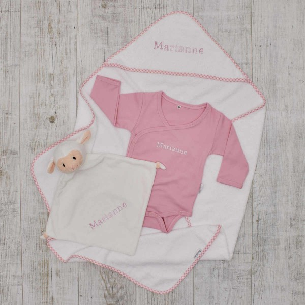 Essentials Babyset - Bathtime, pink