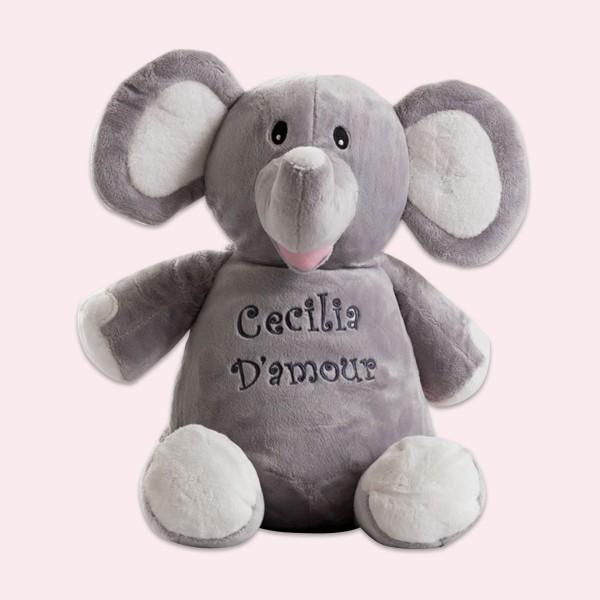 Peluche, 30 cm, éléphant