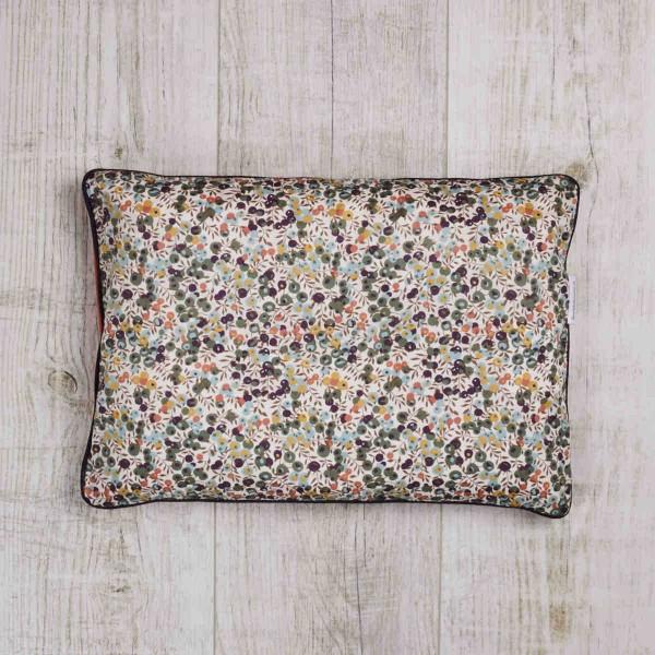 Millet cushion Wiltshire, Olive - Orange