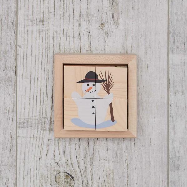"""Puzzle en bois """"hiver"""", Trauffer"""