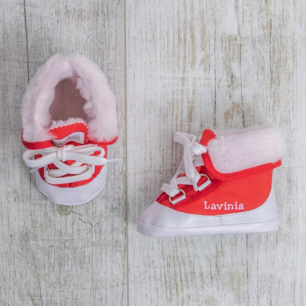 Baby boots, Red