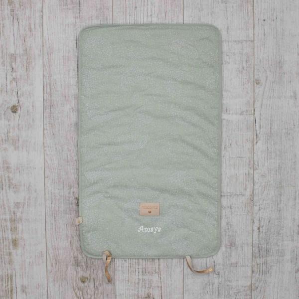 Nomad changing pad 'Bubbles', Mint, Nobodinoz