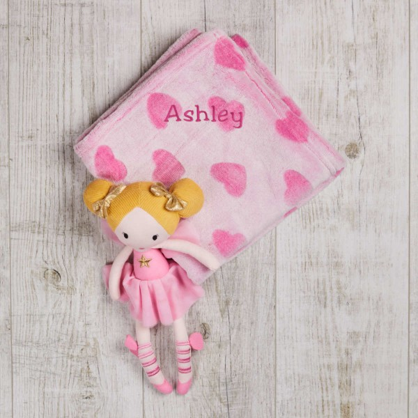 Gift Sets Blanket & Fairy Doll, 30cm