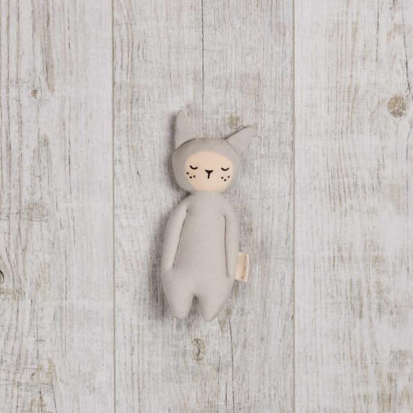 Soft Rattle - Bunny grey