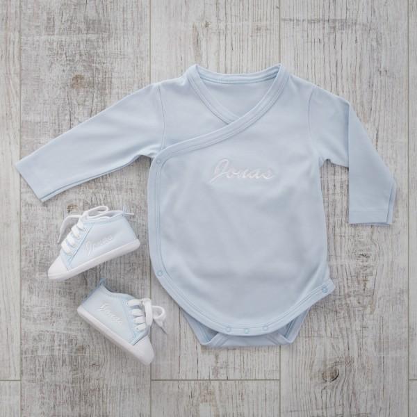 Body & Babyschuhe, Blau