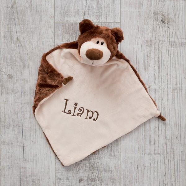 Schmusetuch, Bär