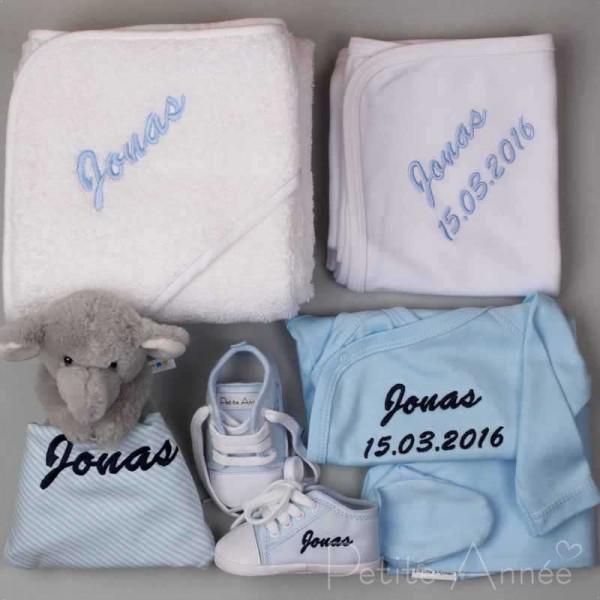 6 piece luxury baby gift set with elephant comforter petite anne 6 piece luxury baby gift set with elephant comforter negle Choice Image