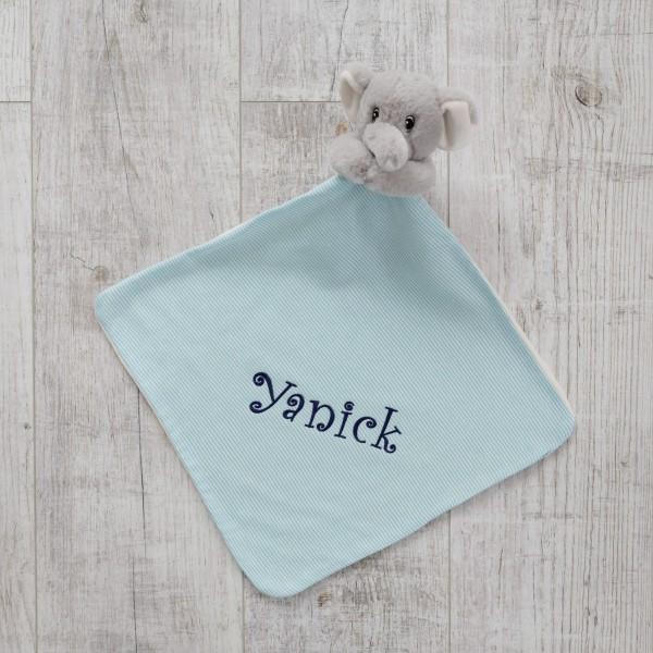 Comforter, Elephant Blue