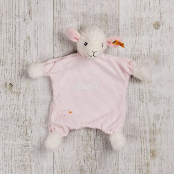 Steiff Good Night Lamb Comforter, pink