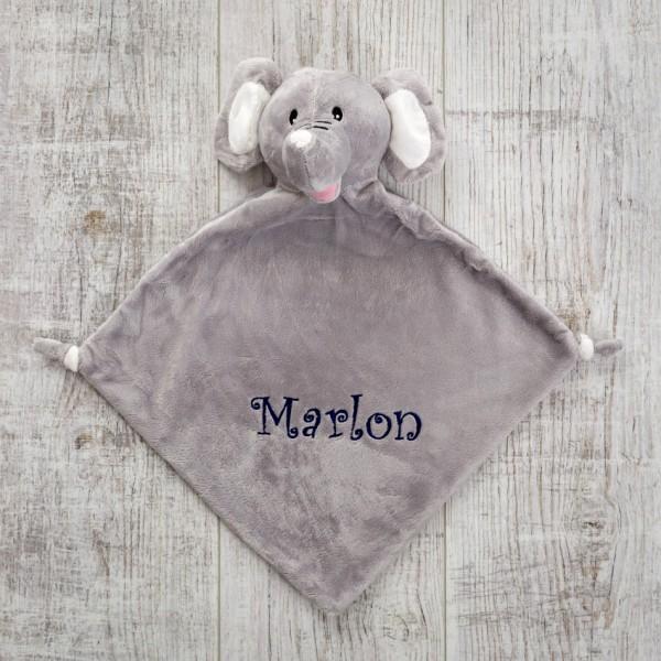 Doudou, éléphant gris