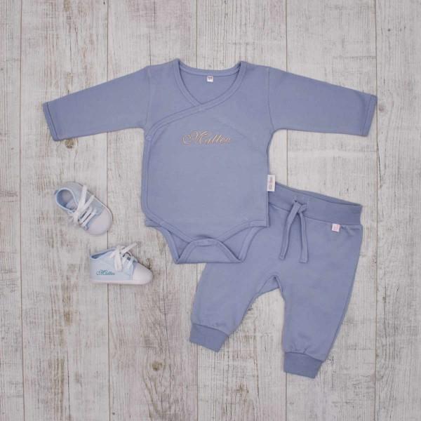 Basics Babyset - Favorits set, blue