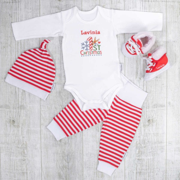 Weihnachts Set, 'My 1st Christmas'