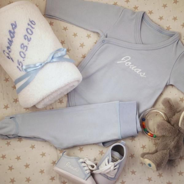 5-teiliges Babyset - Blau