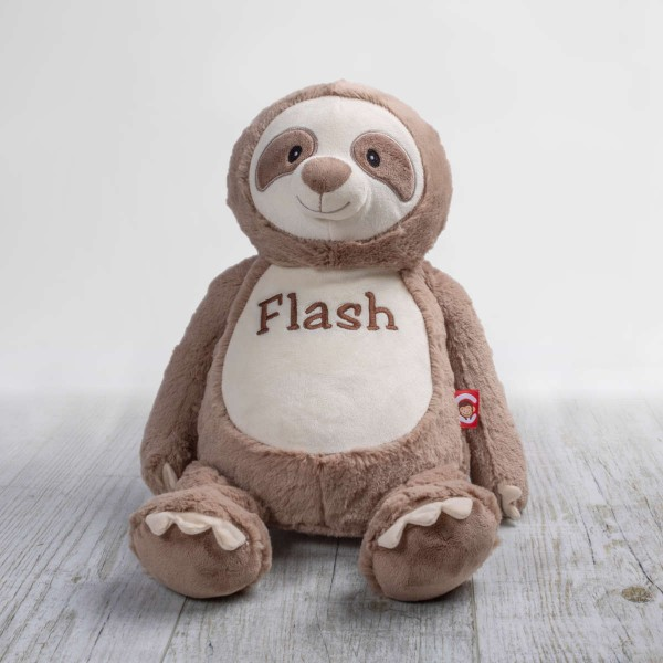 Clingy – Sloth Teddy Plush Toy, 30 cm