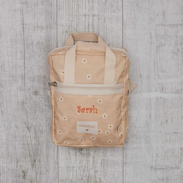 Mini backpack cream white