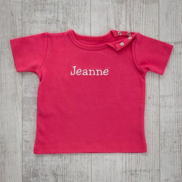 Baby T-shirt, Fuchsia