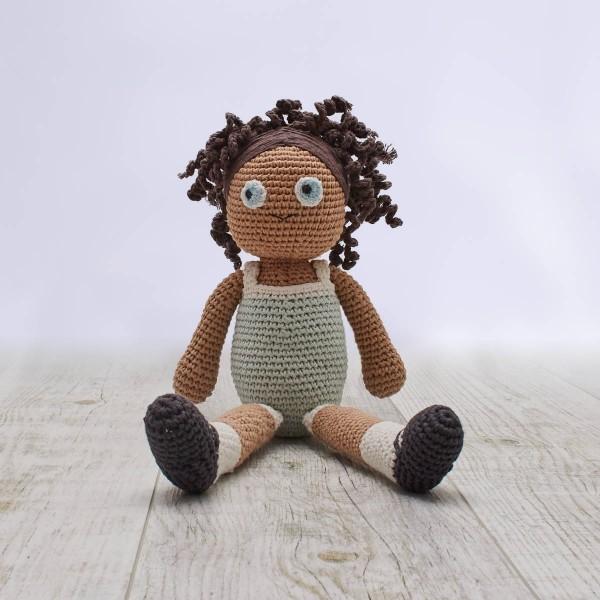 Crochet doll, Lilly