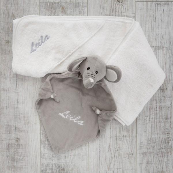 Hooded towel & Comforter, Elephant