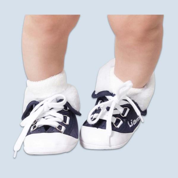 Baby boots, Marineblue