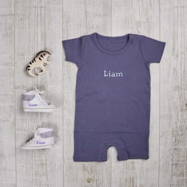 Three piece set body, biting toy & shoes, navy blue