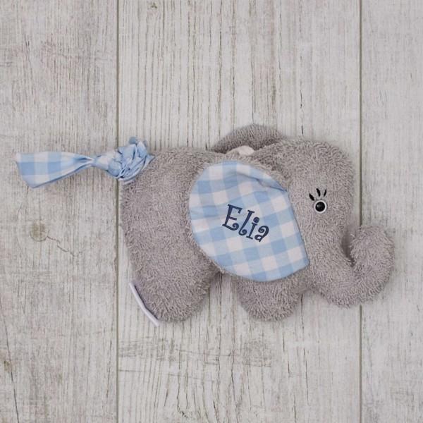 Music box Elephant, blue - 'Imagine'