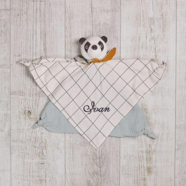 Schmusetuch Panda Bio