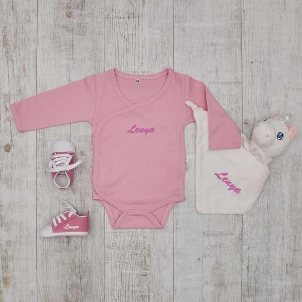 Essentials Babyset - unicorn, pink
