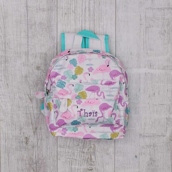 """Mini sac à dos enfant - """"La Baie des flamands roses"""""""