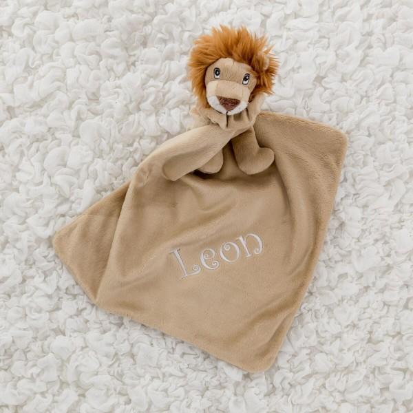 Löwe Schmusetuch