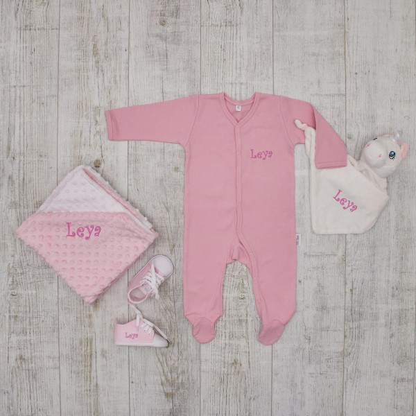 Complet Babyset - sleep tight, pink