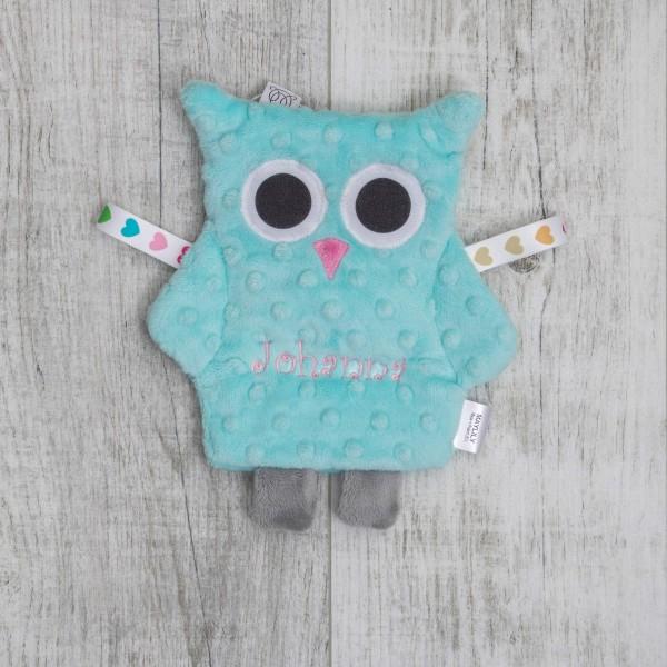 Crinkle Cloth, owl mint