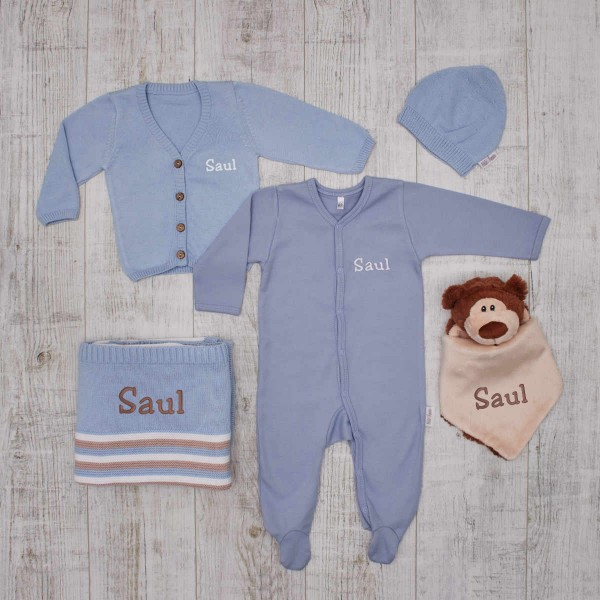 "The prestigious ""Total Blue"" Babyset"